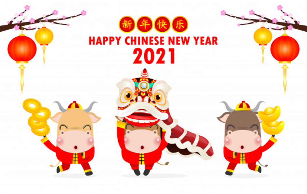 2021 Chinese New Year Holiday Schedule